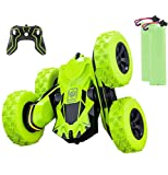 Apsung RC Stunt Car,4WD Rechargeable 2.4Ghz Remote Control Car,Double Sided Rotating Tumbling 360°Flips