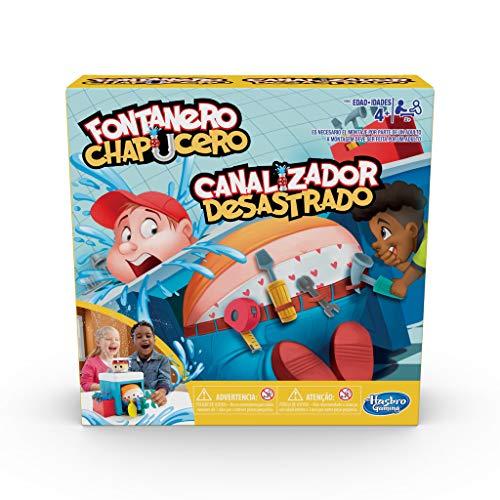 Hasbro Gaming - Juego infantil Fontanero chapucero (Hasbro E6553175)