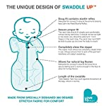 Love-To-Dream-Swaddle-UP-Gray-Small-8-13-lbs-Dramatically-Better-Sleep-Allow-Baby-to-Sleep-in-Their-Preferred-arms-up-Position-for-self-Soothing-snug-fit-Calms-Startle-Reflex