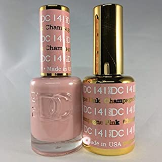 DND DC Duo Gel + Polish - 141 Pink Champagne