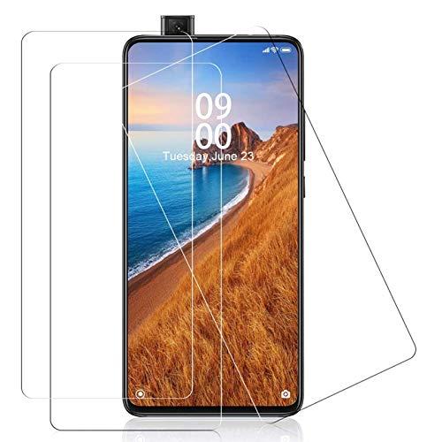 YIEASY 3 Stück Panzerglas für Xiaomi Mi 9T/ Mi 9T Pro Schutzfolie HD 9H Härte Panzerglasfolie Xiaomi Mi 9T Folie Anti-Kratzer/Bläschen/Fingerabdruck Staub Displayschutzfolie für Xiaomi Mi 9T Pro