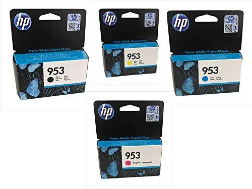 Original Druckerpatronen für HP OfficeJet Pro 8210/ 8218/ 8710/ 8715/ 8718/ 8719/ 8720/ 8725/ 8730/ 8740, OfficeJet 7740 Wide Format inkl. (multipack)