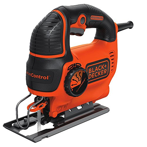 BLACK+DECKER 5A Jigsaw with CurveControl - Orange