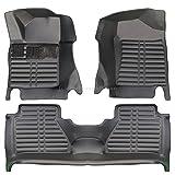 fussmattenprofi.com Tapis de Sol Voiture 3D Premium sur Mesure Adapté pour Nissan Navara (NP300) Depuis 2014