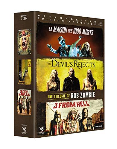 Coffret trilogie rob zombie : 3 from hell + the devil's rejects + la maison des 1000 morts [FR Import]