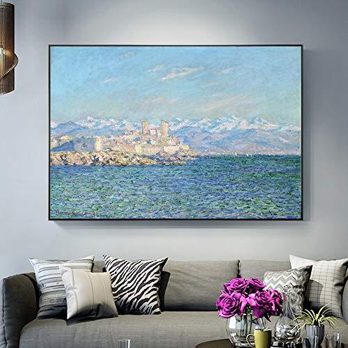 Geiqianjiumai Nachmittagseffekt Gemälde Kopie Kunstdruck auf Leinwand 60x90cm