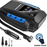 Portable Touch Screen Air Pump for Car & Bike Heavy Duty 12V DC Air Pump Digital Air Compressor with...
