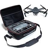 Faironly Pro Drone - Bolsa de hombro con protector de goma EVA, impermeable, color negro
