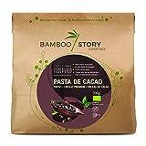 NUEVO - BAMBOO STORY Pasta/Masa/Licor 100% cacao crudo obleas criollo ecológico y bio 400gr.