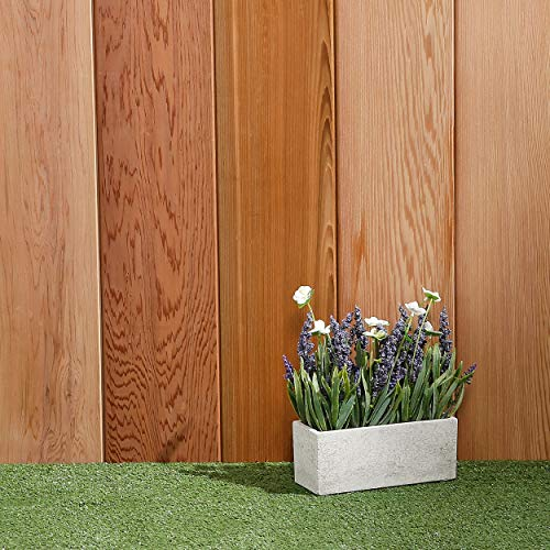 Western Red Cedar Timber Cladding (6 Pack) 1.48m2 - Tongue and Groove V 2 Sides 18x144mmx1.83mtr Vertical or Horizontal Use