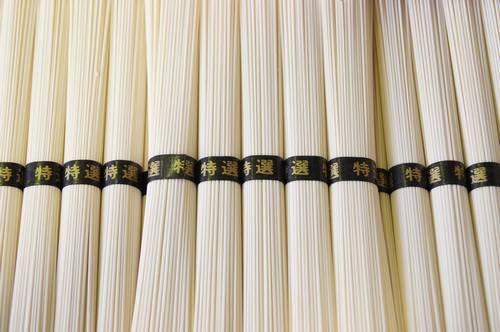 絹肌の貴婦人 手延素麺 国内産小麦100% 超極上 黒帯 50g×90束 4.5kg 簡易箱