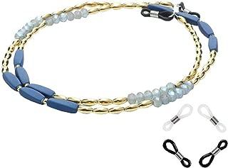 Bigood Retro Beads Eyeglass Chain Glass Cord Retainer Sunglasses Holder Jewelry