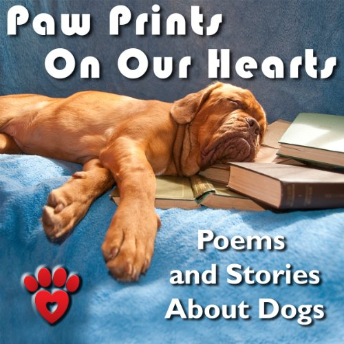 Paw Prints on Our Hearts audiobook cover art
