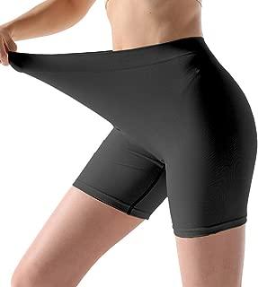 MELERIO Women Seamless Boyshort Panties, Comfortable Slip Shorts for Under Dress