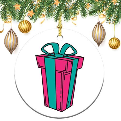 None-brands Monogram Ornament Wreath Ornament Xmas Tree Ornament Custom 2020 Ornament Ornament,Christams Xmas Gift,Christmasation,Round Flat Keepsake