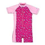 Sterntaler Kinder Mädchen Schwimmanzug, UV-Schutz 50+, Alter: 3-4 Jahre, Größe: 98/104, Pink/Rosa