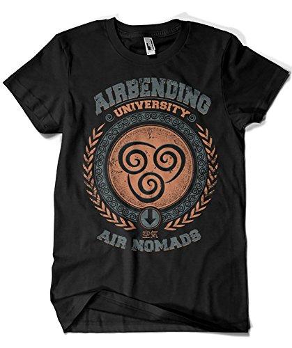 761-Camiseta Airbending University (Typhoonic)