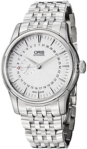 Oris Artelier Automatic Small Second Pointer Date Stainless Steel Mens Watch 744-7665-4051-MB