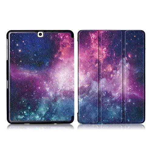 YHWW Tablethülle Tablet-Hülle (tropfenfest und schwer zu verschmutzen) PU-Ledertasche für Samsung Galaxy Tab S2 9.7 Faltbare Hülle für Samsung Tab S2 9.7 SM-T815 T810 T813 T819 Tablet-Hülle,
