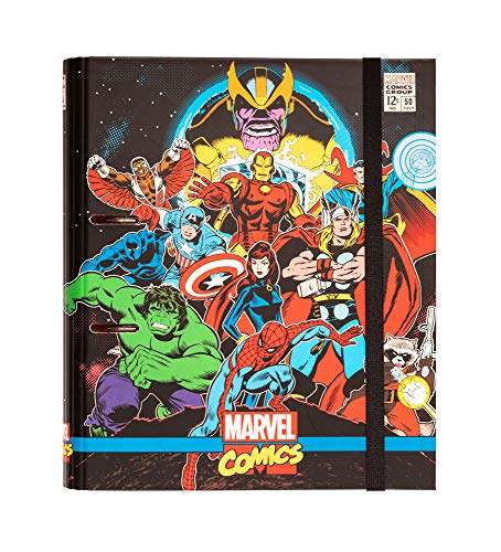 Erik® - Raccoglitore ad Anelli A4 Marvel Comics Avengers