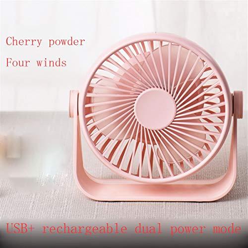 Lmz Kleiner Ventilator Mini leise tragbarer Kleiner Ventilator Studentenwohnheim Büro Bettwäsche Desktop Baby elektrische kleine Kühlung Handheld Kinder Klimaanlage Ventilator