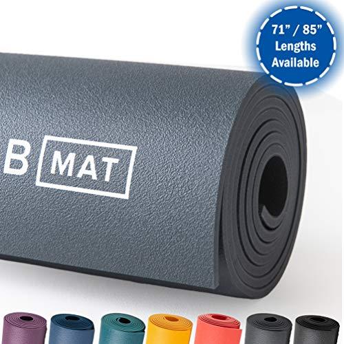 B Mat Strong Yoga-Matte, Anthrazit, 180 cm