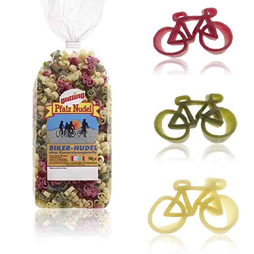 Fahrrad-Nudeln 2 Packungen à 250 g // Pasta Fahrrad 500 g Hartweizengrieß