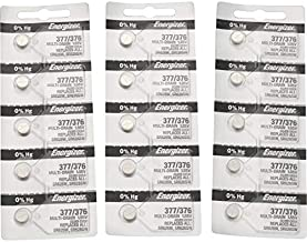 377 Energizer 1.55 Vcc Silver Oxide Watch Battery (Value Pack of 5)