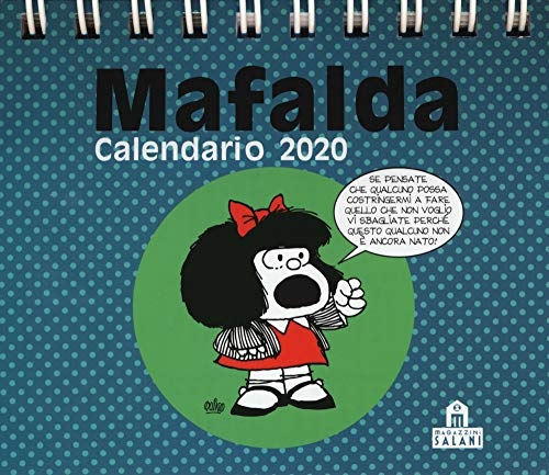 Mafalda. Calendario da tavolo 2020