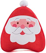 ZWYTZ Knee Pillow,Memory Foam Leg Pillow,Cute Santa Claus for Side Sleepers Relief Back Leg Pain Knee Pain Pregnancy Hip and Joint Pain with Washable CoverC