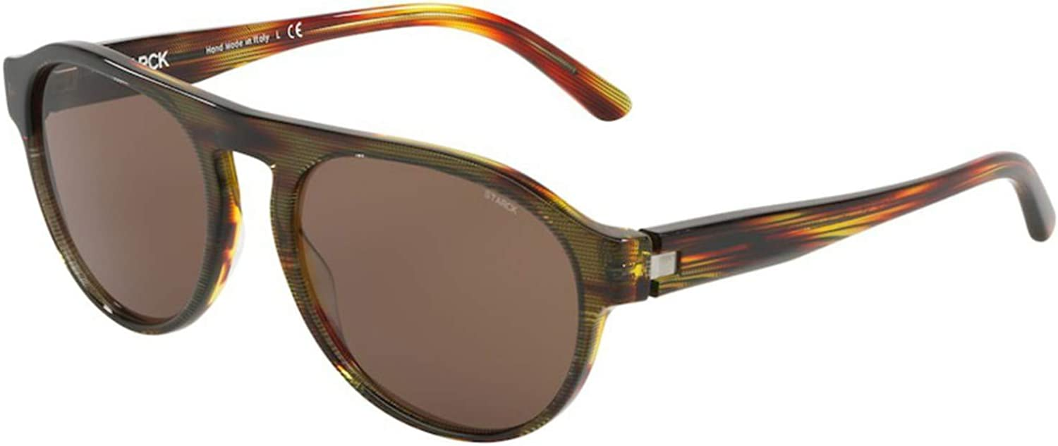Sunglasses Starck eyes Challenge the lowest price of Japan SH 5024 000273 Pointille Red Black Mesa Mall Havana