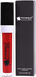 Ferrarucci Matte Long Lasting Lip Gloss - FLC31 Red, 7ml