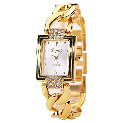 Armbanduhr Damen Uhr Xinnantime Luxus Mode Verkauft Der Analoge Quarz Damenuhr Frauen Gold (Standard, Gold)