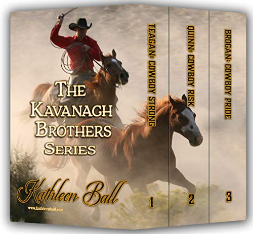 The Kavanagh Brothers Series Books 1-3: Christian Historical Western Romance by [Kathleen Ball]