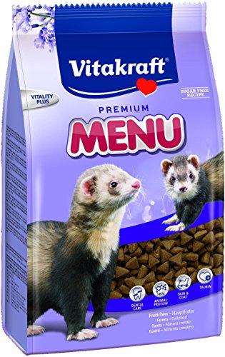 Vitakraft Premium Menü, Hauptfutter für Frettchen, 800 g Packung (1 x 800 g)