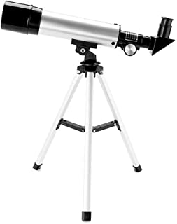 Pullox 90 X Refractor Telescope, Astronomy Telescope Tabletop Nature Exploration Gifts Toys for Kids, Adults Sky Star Gazi...