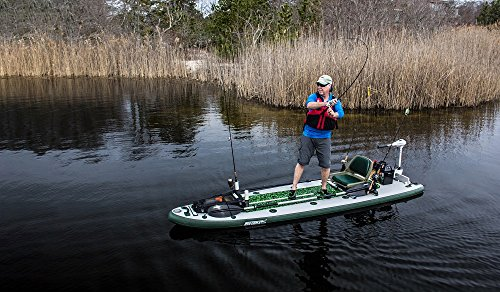 Sea Eagle FishSUP 126 Inflatable FishSUP - Swivel Seat Fishing Rig Package