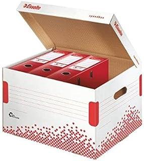 ESSELTE Lot de 5 Containers SPEEDBOX automatique L334 x P392 x H301 mm pour 5 Classeurs