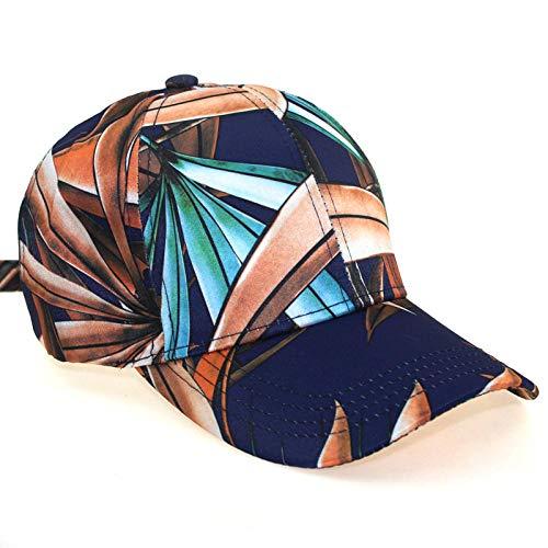 Gorra de béisbol Impresa Gorra de Flores de Todo fósforo Informal para Mujer Sombrero para el Sol al Aire Libre de Verano-2