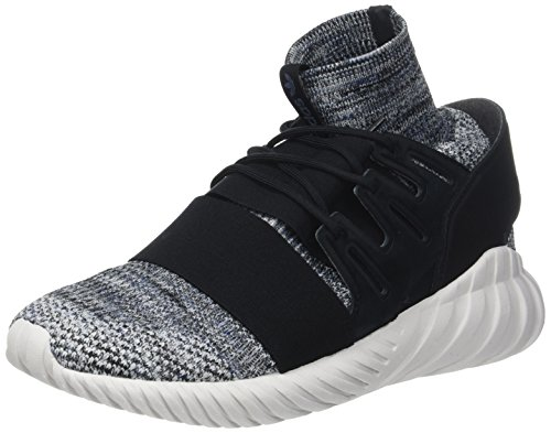 adidas Tubular Doom Prime Knit, Scarpe da Ginnastica Basse Unisex-Adulto, Nero (Core Black/Grey Three/Tech Ink), 41 1/3 EU