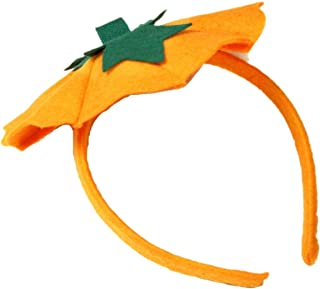 Petitebella Pumpkin Headband One Size Unisex