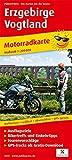 Erzgebirge - Vogtland: Motorradkarte mit Ausflugszielen, Einkehr- & Freizeittipps und Tourenvorschlägen, wetterfest, reissfest, abwischbar. 1:200000 (Motorradkarte: MK)