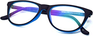 Peter Jones Cat-eye Anti Glare Reading Glasses for Men Women, Computer Readers UV 400 Customise Prescription (AG030)