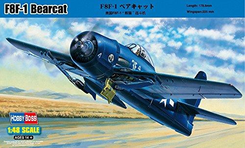ホビーボス 1/48 エアクラフトシリーズ F8F-1 ベアキャット プラモデル
