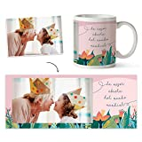 Fotoprix Taza para la Abuela Personalizada con Foto | Regalo Original día de la Abuela | Varios dise...