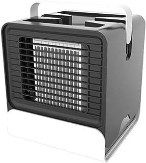 BOOM Mini Aire Acondicionado Portátil Air Cooler 3 Velocidades 7 Luces LED Enfriador para el Hogar y la Oficina