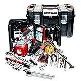 Dirtbag Brands Bailout Box ATV UTV Tool Kit SxS Recovery Box Trail Side Tools (UTV Offroad Toolkit) Toolbox for ATV