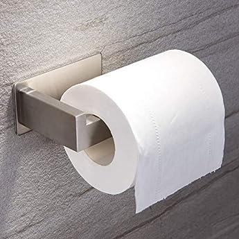 Foto di Ruicer Porta Carta igienica Autoadesivo, in Acciaio Inox, per bagni e WC