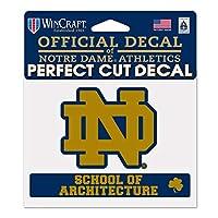 WinCraft NCAA ノートルダムWCR20059014 パーフェクトカットカラーステッカー 4.5インチ x 5.75インチ