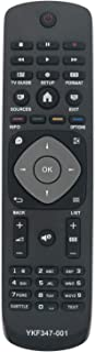 ALLIMITY YKF347-001 Telecomando Sostituito per Philips UHD TV 32PHT4001 39PHS4112 43PFS4112 43PFT4132 55PUK4900 32PHT4032 ...